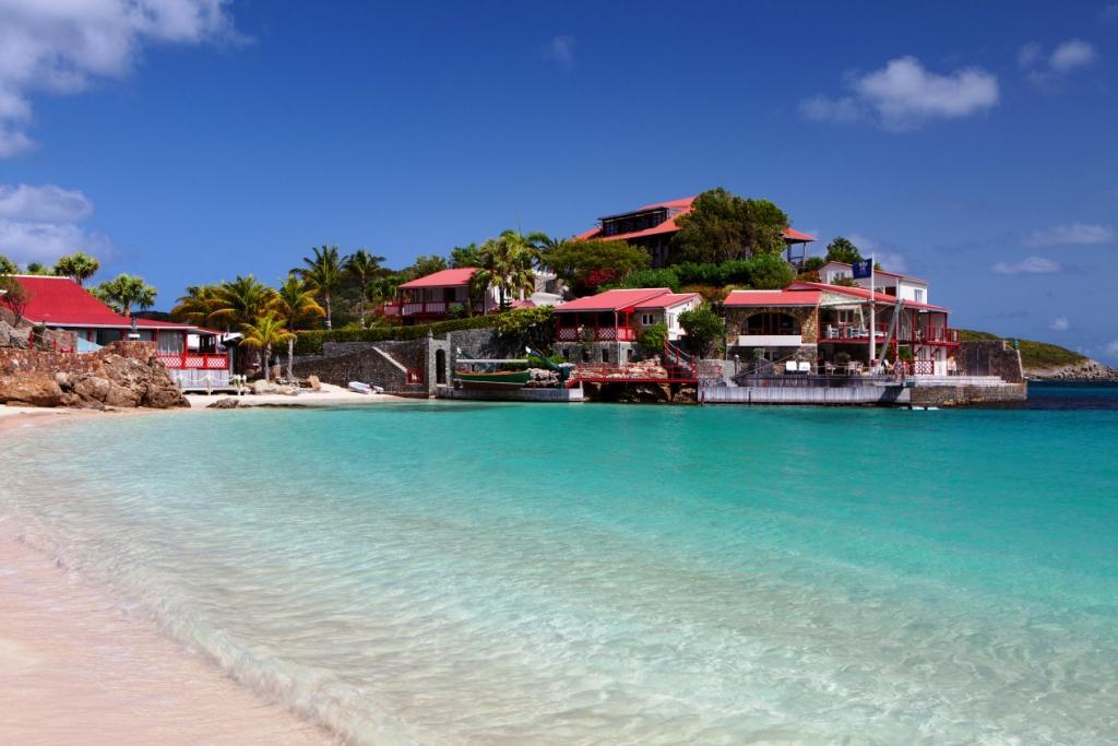 Best Island Beaches For Partying Mykonos St Barts: Eden Rock