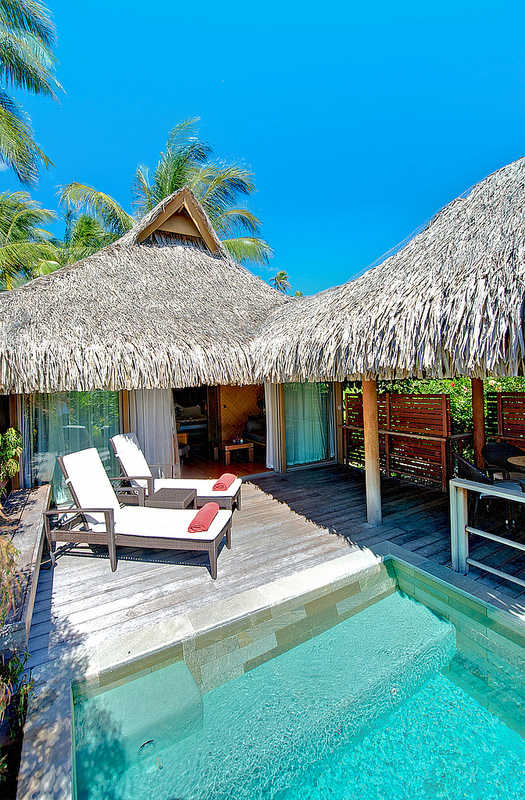 Intercontinental moorea resort spa locazur for Garden pool bungalow intercontinental moorea